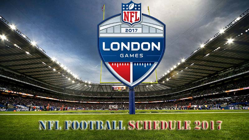 NFL Football Game Schedule